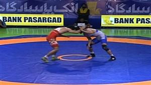 مسابقه حسنیزدانی-کامرانقاسمپور (انتخابی تیم ملی)