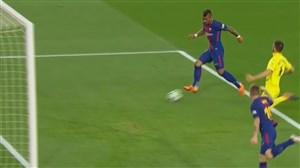 گل دوم بارسلونا به ویارئال (پائولینیو)