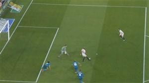 گل دوم سویا به رئال مادرید (میگوئل لایون)
