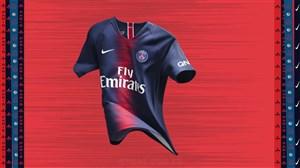 رونمایی از کیت جدید پاریسنژرمن برای فصل 2018/19