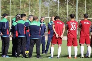 شروع تمرینات آمادهسازی تیم ملی امید
