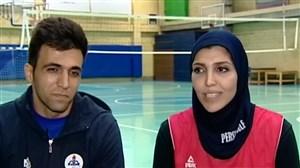 گپی با گلشید امیدیان و مسعود سلیمانی، زوج موفق بسکتبالی