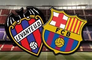 خلاصه بازی لوانته 5 - بارسلونا 4