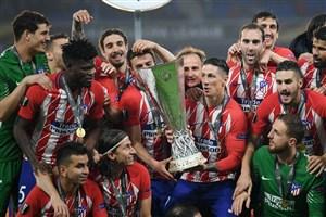 تداوم موفقیت های اتلتیکو مادرید در لیگ اروپا