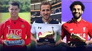 برندگان کفش طلا لیگ برتر جزیره از سال 1992 تا 2018