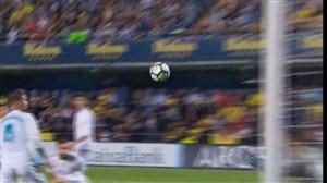 سوپر گل ویارئال به رئال مادرید(مارتینز)