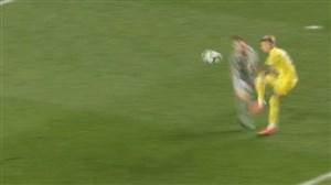 گل دوم ویارئال به رئال مادرید(کاستیلیو)