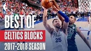 زیبا ترین بلاکهای بوستون سلتیکس در NBA 2018