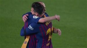 آخرین لحظات حضور اینیستا در بارسلونا