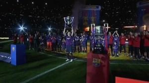 نگاهی ویژه به قهرمانی بارسلونا و خداحافظی اینیستا