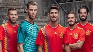 فهرست نهایی اسپانیا برای جام جهانی اعلام شد