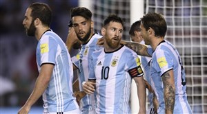 پیش بازی آرژانتین - ایسلند