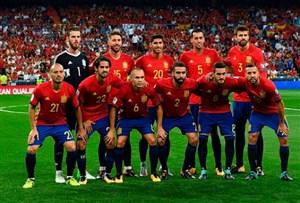 معرفی فهرست نهایی اسپانیا برای جام جهانی 2018 روسیه