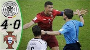 بازی جنجالی و پر گل آلمان-پرتغال جام جهانی2014