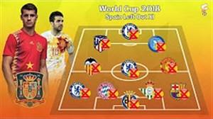 ستارگان غایب اسپانیا در جام جهانی 2018 روسیه