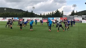 تمرین امروز تیم ملی ایران در ترکیه (05-03-97)