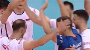 خلاصه والیبال آلمان ۱ - صربستان ۳