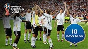 18 روز مانده تا جام جهانی 2018 روسیه