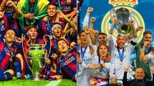 برندگان لیگ قهرمانان اروپا از سال 1956 تا 2018