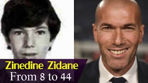 زین الدین زیدان از 1 سالگی تا 44 سالگی