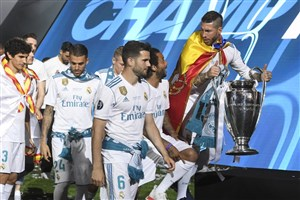دور افتخار رئالیها در سانتیاگو برنابئو با جام قهرمانی اروپا
