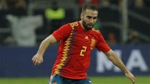کارواخال از بازی با ایران در ترکیب اسپانیا