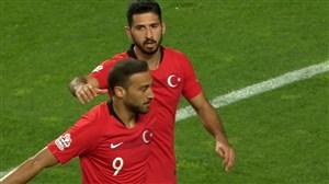 گل دوم ترکیه به ایران (جنک توسون)