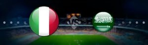 خلاصه بازی ایتالیا 2 - عربستان 1