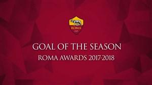 کاندیداهای برترین گل و پاس گل باشگاه آ.اس.رم در فصل 18-2017