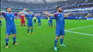 شبیهسازی تماشایی و جالب تشویق ایسلندی در بازی فیفا