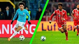 سریع ترین بازیکنان جوان فصل 18-2017