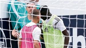 درگیری فیزیکی در تمرین تیم ملی آلمان(عکس)