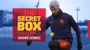 چالش روپایی با توپ تصادفی بارسلونا آندره گومز