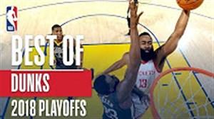 بهترین اسلم دانک های مرحله پلی آف 2018 بسکتبال NBA