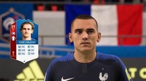 طراحی چهره بازیکنان فرانسه در فیفا ۲۰۱۸