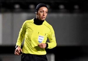 گفتگو با مهسا قربانی داور بین المللی فوتبال بانوان