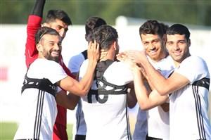 آخرین روز تمرین تیم ملی ایران در کمپ استامبول