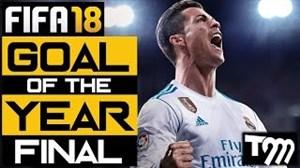 15 گل برتر سال در FIFA18