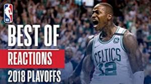 خوشحالی های بعد از گل در مرحله پلی آف بسکتبال NBA
