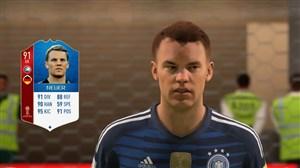 چهره بازیکنان آلمان در ورژن جدید بازی FIFA 18