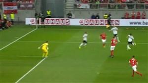 گل اول آلمان به اتریش توسط مسوت اوزیل
