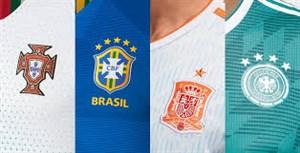 وضعیت فروش پیراهن های تیم های جام جهانی