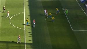 گل دوم برزیل به کرواسی (فیرمینو)