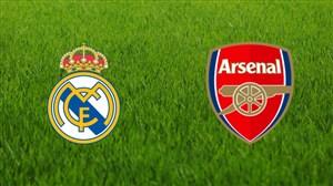 خلاصه بازی اسطوره های رئال مادرید 2 - آرسنال 1