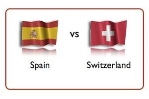 خلاصه بازی اسپانیا 1 - سوئیس 1