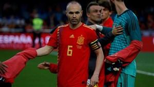 اینیستا: شاید بعد از جام جهانی هم برای اسپانیا بازی کنم