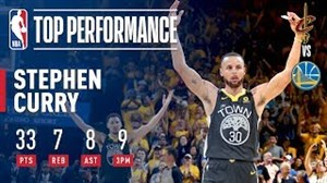 رکورد شکنی استفن کری در بازی دوم فینال NBA