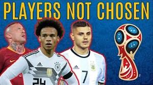 ستارگانی که از لیست تیمهایشان برای جام جهانی خط خورده اند