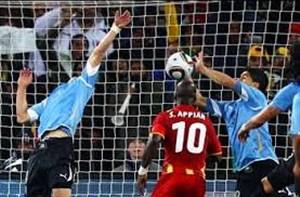 نگاهی متفاوت به دیدار غنا-اروگوئه در جامجهانی 2010