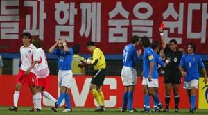 دیدار خاطرهانگیز کرهجنوبی-ایتالیا در جامجهانی 2002